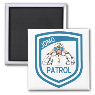 Jomo Patrol Refrigerator Magnet