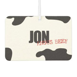 """Jon """"Angus Beef"""" Trendy Air Freshener"""