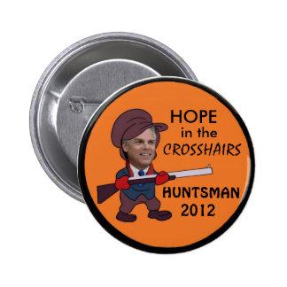Jon Huntsman 2012  button