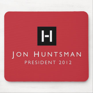 Jon Huntsman 2012 President Mouse Pad