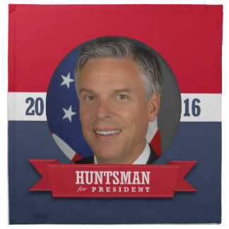JON HUNTSMAN 2016 NAPKINS