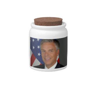 Jon Huntsman Candy Jar
