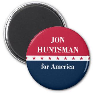 Jon Huntsman for America 6 Cm Round Magnet