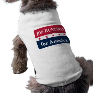Jon Huntsman for America Dog Tee Shirt