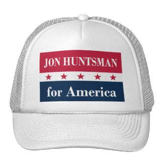 Jon Huntsman for America Trucker Hats