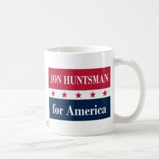 Jon Huntsman for America Classic White Coffee Mug
