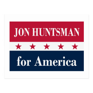 Jon Huntsman for America Postcard