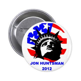 JON HUNTSMAN PINBACK BUTTONS