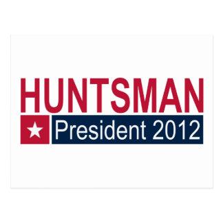 Jon Huntsman President 2012 Postcard