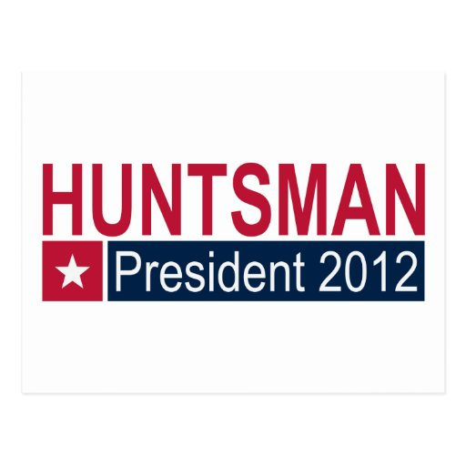 Jon Huntsman President 2012 Post Cards