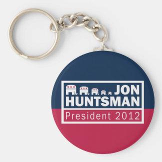 Jon Huntsman President 2012 Republican Elephant Key Chains