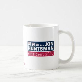 Jon Huntsman President 2012 Republican Elephant Basic White Mug