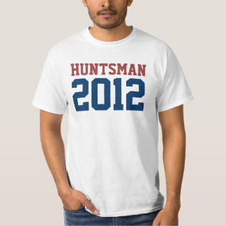 Jon Huntsman President in 2012 T-shirts