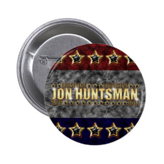 Jon Huntsman Stars and Stripes Buttons