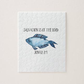 Jonah 2:9 puzzles