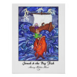 Jonah & the Big Fish Print-Customised Poster