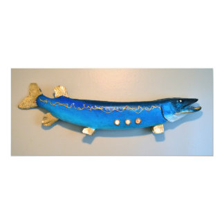 Jonah's fish flat card