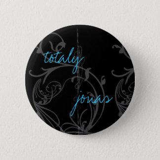jonas 6 cm round badge