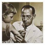 Jonas E. Salk, M.D. Poster
