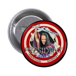 "Jonathon ""The Impaler"" Sharkey 2012 6 Cm Round Badge"
