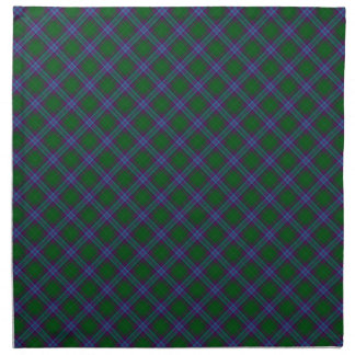Jones Clan Tartan Designed Print Napkin