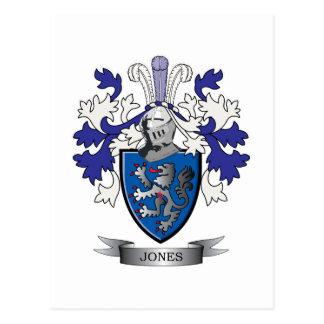 Jones Coat of Arms Postcard