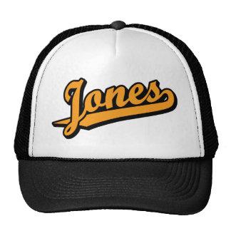 Jones in Orange Hat