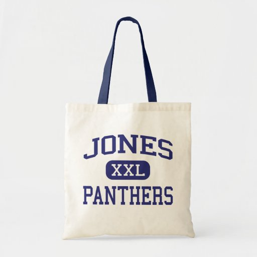 Jones Panthers Middle School Marion Indiana Canvas Bag