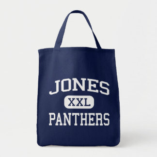 Jones Panthers Middle School Marion Indiana Canvas Bags