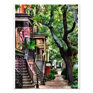 Jones Street, Savannah Photo Print