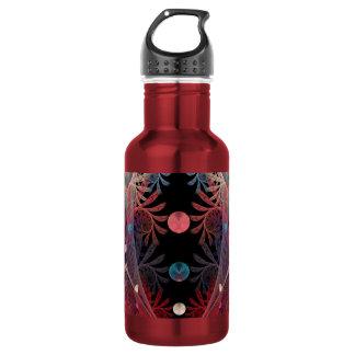 Jonglage Abstract Modern Fantasy Fractal Art 532 Ml Water Bottle