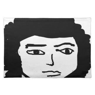 jonh carton picture drawing placemat