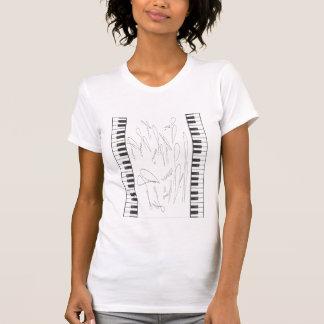 JONNI Signature Piano Ladies T-Shirt