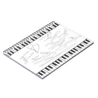 JONNI Signature Piano Notebook