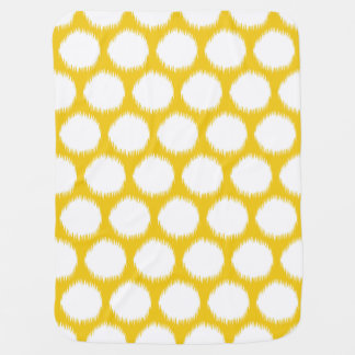 Jonquil Asian Moods Ikat Dots Baby Blanket