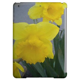 Jonquils Daffodils Yellow Garden Flowers iPad Case