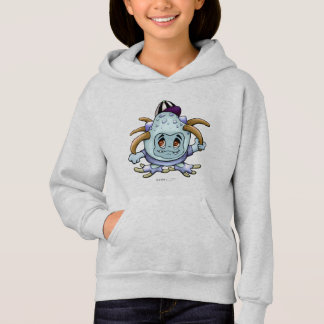JONY PITTY ALIEN CARTOON Hoodie Girl ASH