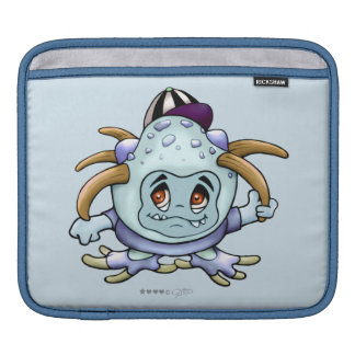JONY PITTY ALIEN MONSTER CARTOON iPad H iPad Sleeves