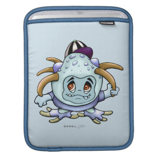 JONY PITTY ALIEN MONSTER CARTOON iPad Sleeve For iPads