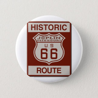 Joplin Route 66 6 Cm Round Badge