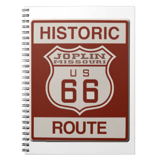 Joplin Route 66 Notebooks