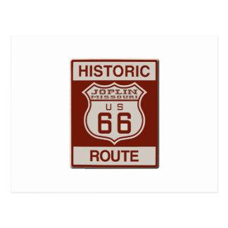 Joplin Route 66 Postcard