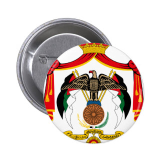 Jordan Coat Of Arms 6 Cm Round Badge