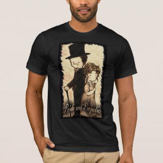 "Jordan Ellis--- American fitted black small ""Kitty T-Shirt"