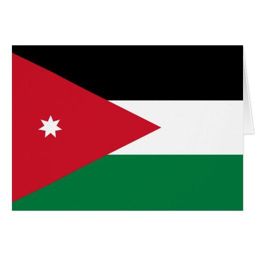 Jordan Flag Card