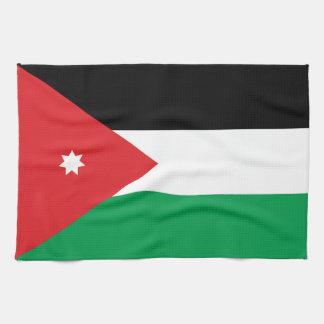 Jordan Flag Tea Towel
