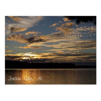 Jordan Lake AL Postcard