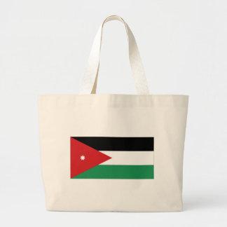 Jordan National Flag Canvas Bags