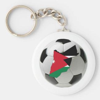 Jordan national team basic round button key ring