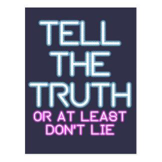 Jordan Peterson: Tell The Truth... Postcard